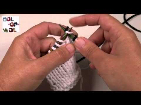 Beginners breien, nieuwe kleur / draad aanhechten