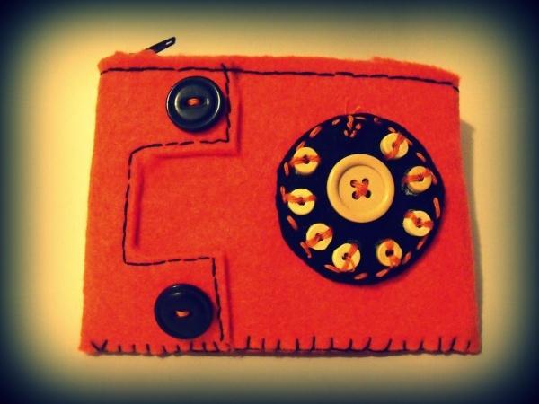 PHONE WALLET FELT