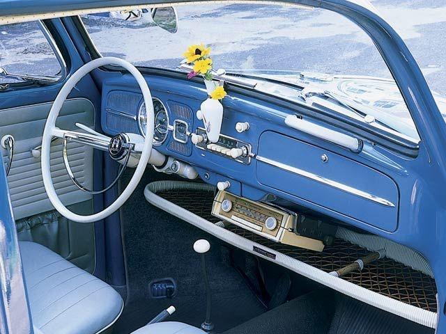 1963 Volkswagen Beetle+Interior