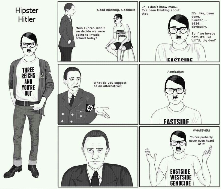 hipster hitler visits the - photo #4