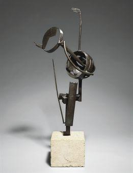 JULIO GONZALEZ (1876-1942) | Le rêve (Le baiser) | vanguardia