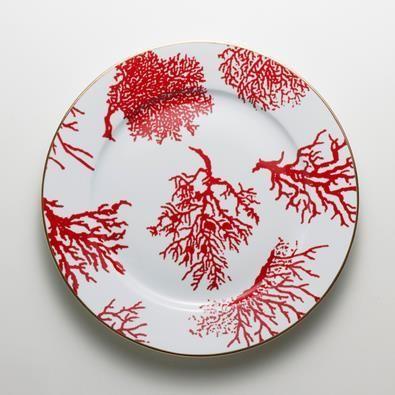 Aparelho de Jantar Corais do Brasil Vermelho - 18 Peças