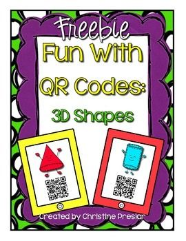 "This is a scavenger hunt made with QR codes to use in your classroom. Students will scan each QR Code with a scanning app on a smart device such as, an iPod, iPad, or smartphone.   In my classroom we use a free scanning app called, ""Scan"" to do these activities."