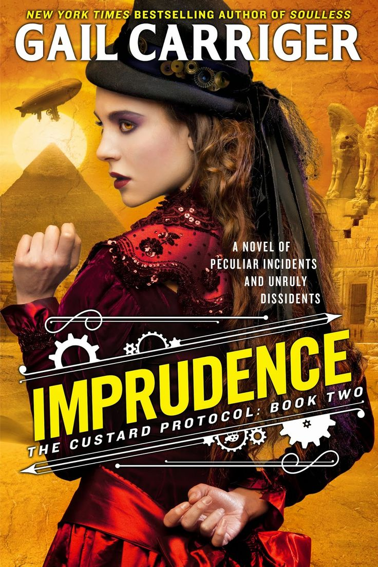#coverreveal Imprudence ( The Custard Protocol, #2) By Gail Carriger