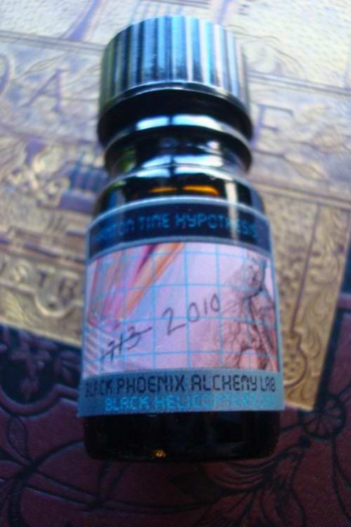 Phantom Time Hypothesis 2010  5ml  Black Phoenix by alchemylab, $23.00