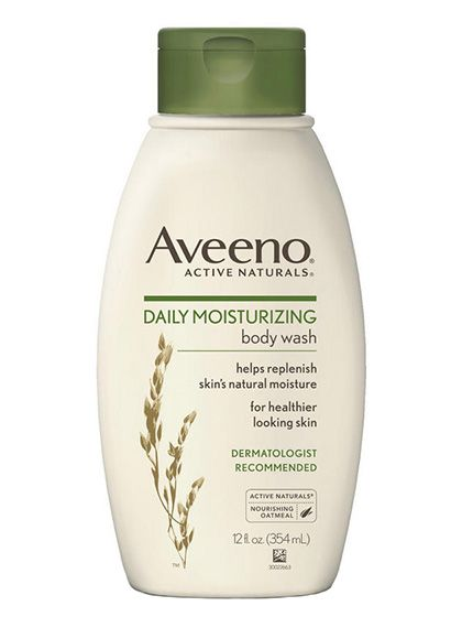 Simple Beauty Product Swaps To Make For Winter: Aveeno Daily Moisturizing Body Wash | allure.com