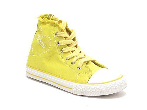 Twin Set scarpe ragazza, modello HS58EG, sneakers in tessuto denim, colore senape in OFFERTA su www.kellieshop.com Scarpe, borse, accessori, intimo, gioielli e molto altro.. scopri migliaia di articoli firmati con prezzi da 15,00 a 299,00 euro! #kellieshop Seguici su Facebook > https://www.facebook.com/pages/Kellie-Shop/332713936876989