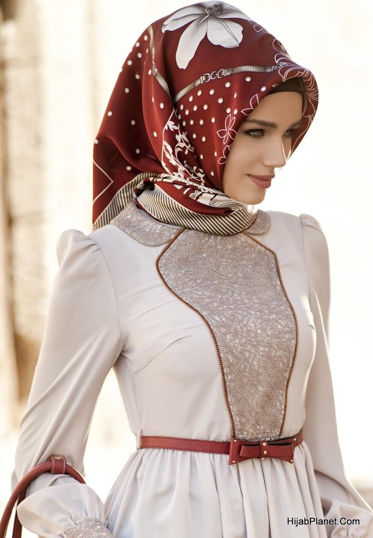 Armine Bahar Silk Hijab - HijabPlanet.Com
