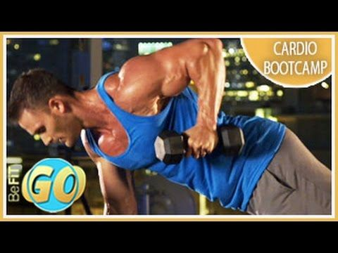 Total Body Cardio Bootcamp Workout: BeFiT GO- 10 Mins - YouTube