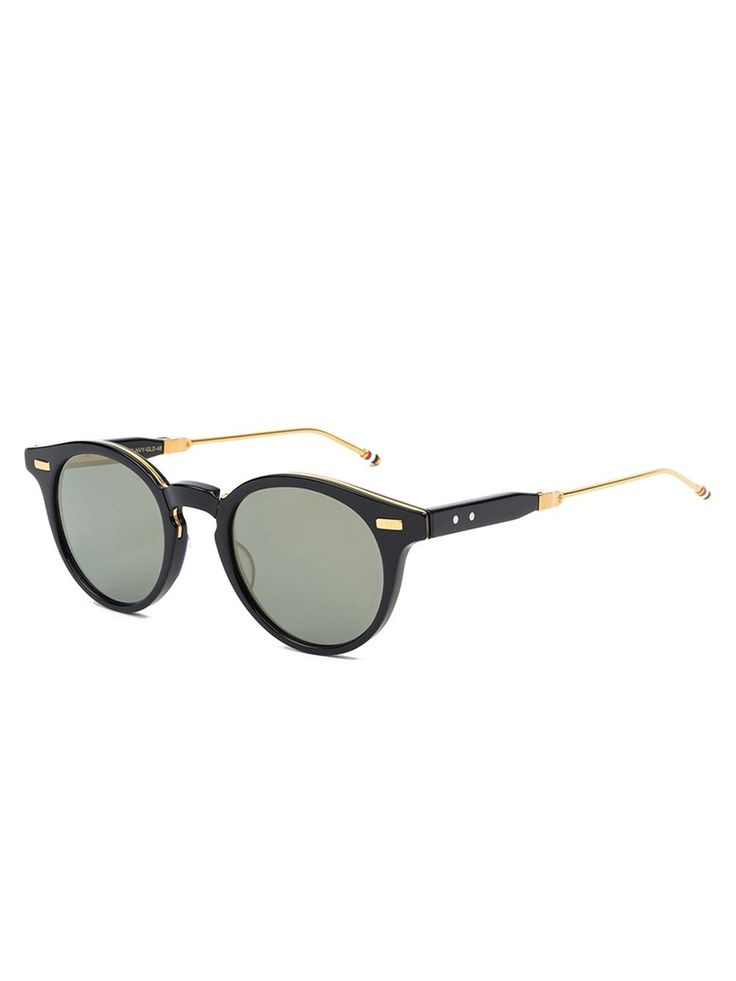 Thom Browne foldable round frame sunglasses
