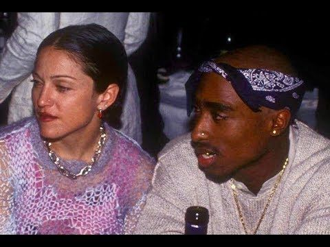 Tupac Break-Up Letter To Madonna Hits Auction Block. A rare letter from Tupac Shakur to Madonna is about to hit the auction block. In 1995 Tupac wrote to her from prison explaining why he broke up with her saying it was because of her race. He says in the letter: for her dating a black man makes her seem more open and exciting.