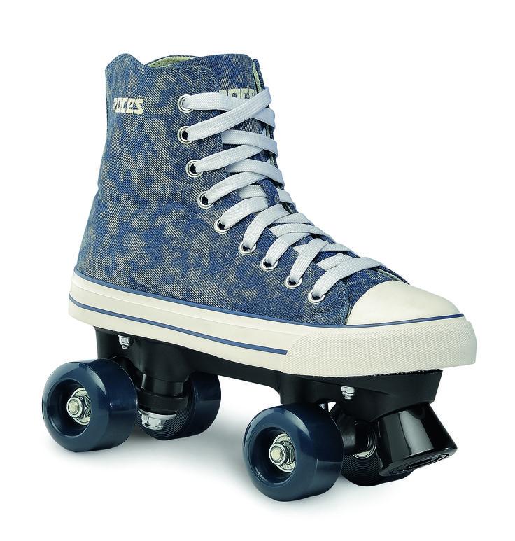 Roces Chuck Quad Skate, Girl, Fuchsia, 38