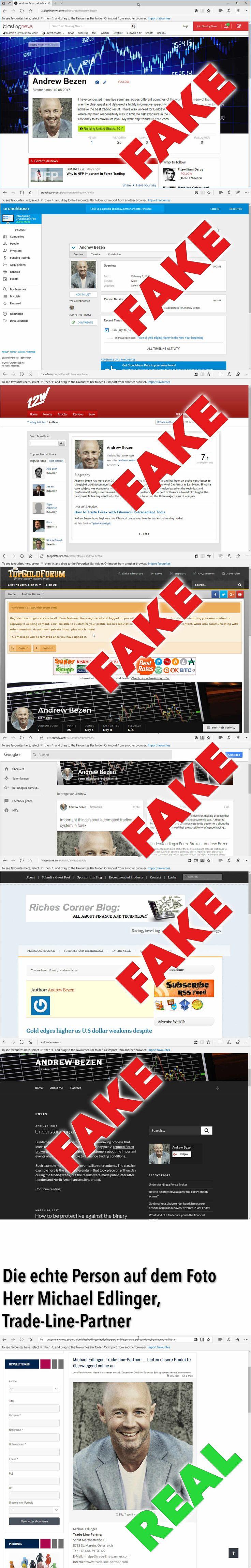 CyberCrime — Ukrainische Hacker — Identitätsdiebstahl, Betrug und Fake-Profile — Andrew Bezen | Investment News