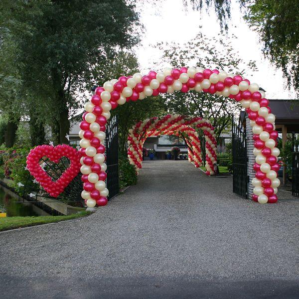 Bruiloft Decoratie Boog & Harten