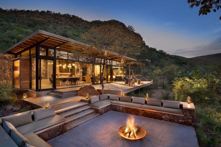 Le Marataba Trails Lodge est un lodge safari de luxe unique, spécialisé dans la promen