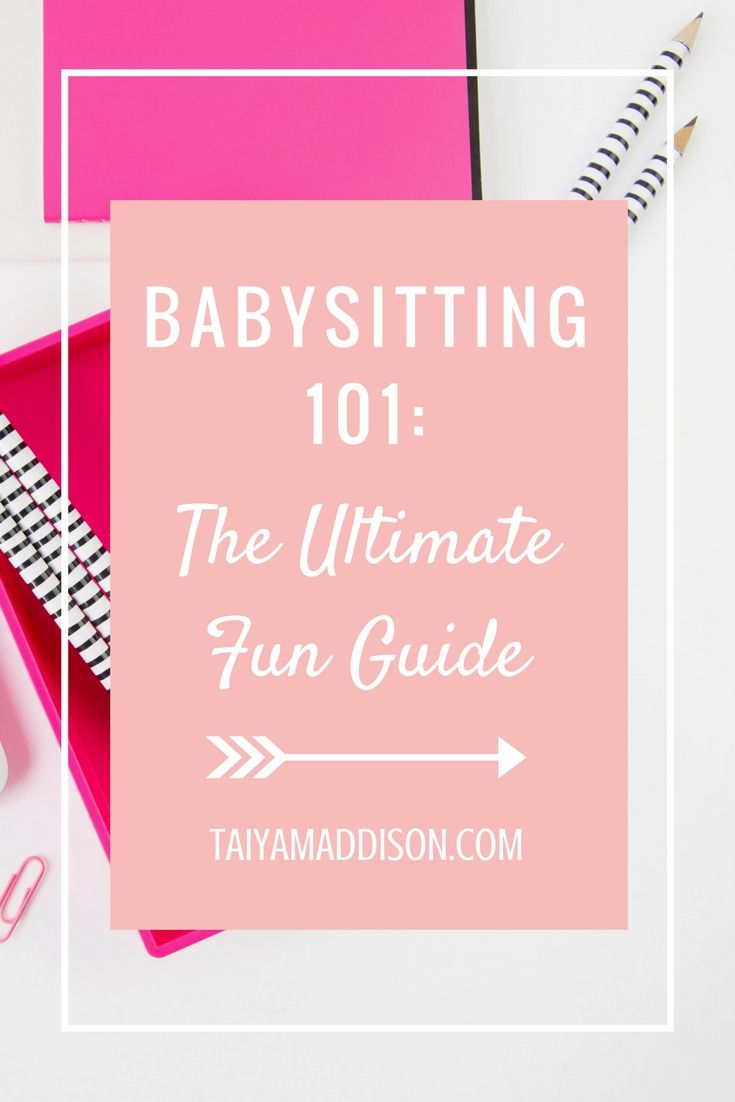 BABYSITTING 101: THE ULTIMATE FUN GUIDE FOR KIDS!  In this Babysitting 101 post, I give you a list of activities to do with kids and by best babysitting tips!