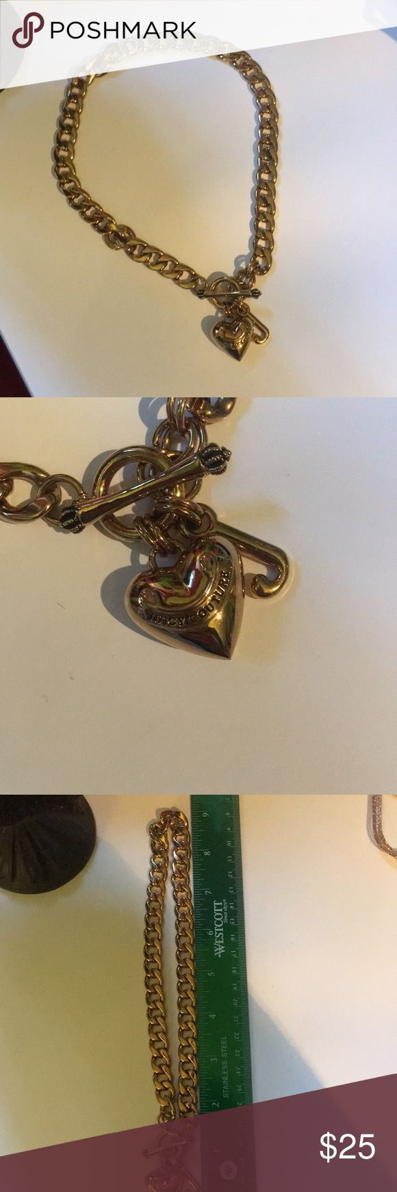 Juicy Couture Necklace Well taken care of. It's cute looks new. Juicy Couture Jewelry Necklaces