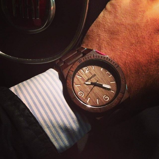 A classy and sophisticated WeWood watch. theguideonline.com.au