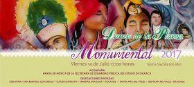 Realizarán en Zaachila Encuentro Monumental de la Danza de la Pluma