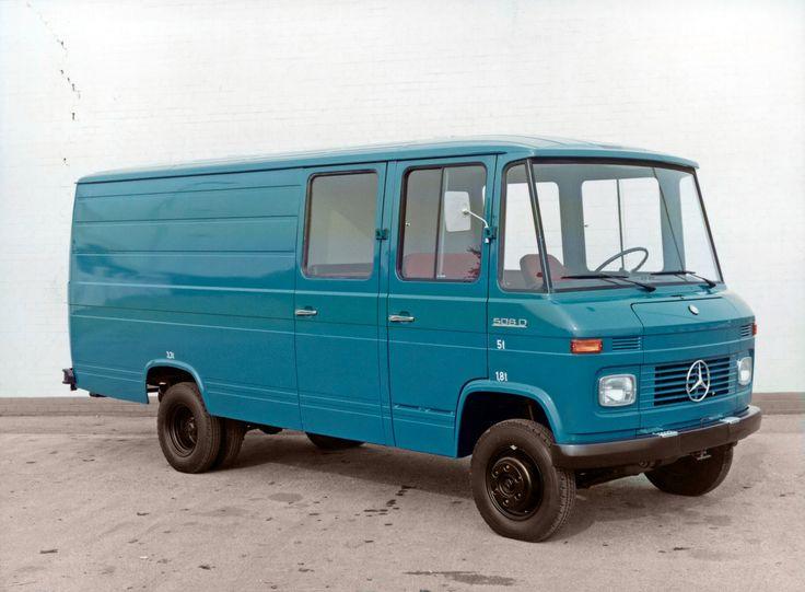 Mercedes-Benz L 508 D фургон с двойной кабиной (Br.309) '1968–81