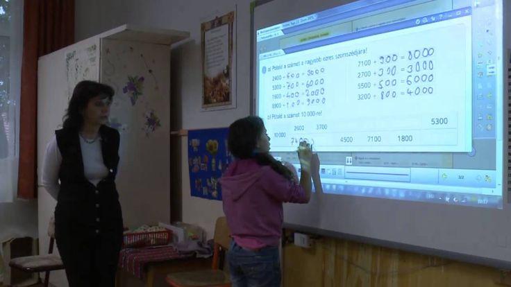 Matematika 4. osztály - Számolási készség fejlesztése