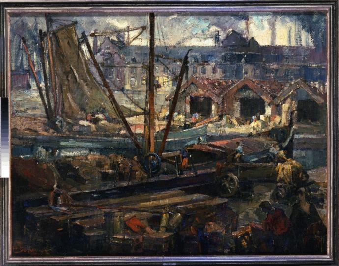 Het Bassin te Maastricht - Henri Jonas