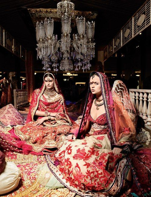 Editorial from Vogue India, indian wedding clothes,