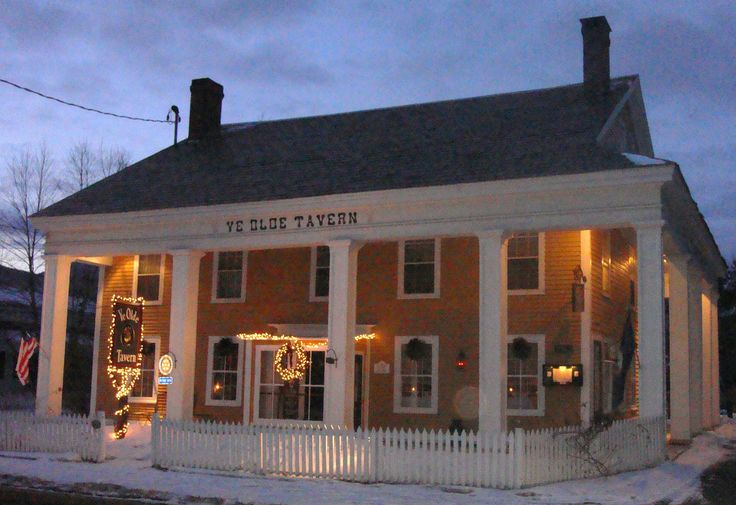 Ye Olde Tavern in Manchester is the oldest bar in Vermont. Established 1790.