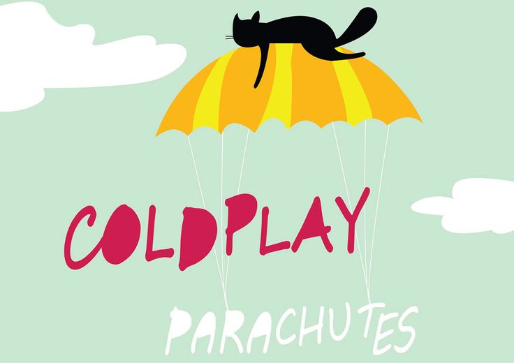 """""""COLDPLAY PARACHUTES Poster Design"""" https://www.behance.net/gallery/58897519/COLDPLAY-PARACHUTES-Poster-Design"""