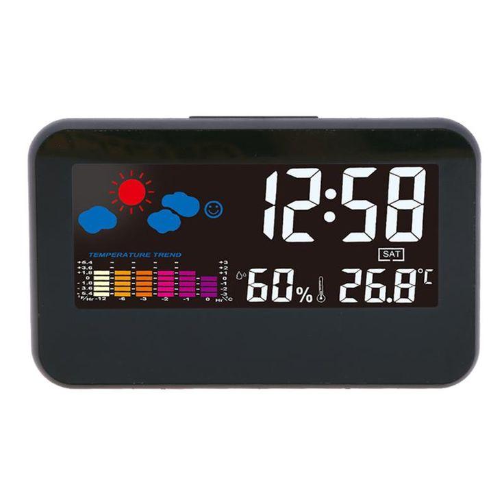 US 1036 JOCESTYLE Electronic Alarm Clock Weather