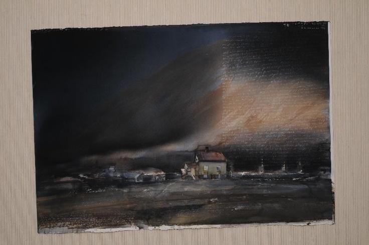 Lars Lerin - swedish watercolour artist