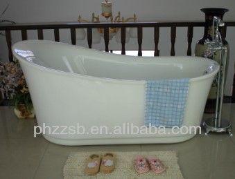 Source BESMA Portable Freestanding Custom Size Plastic Bathtub for Adult;cheap acrylic bathtub B-7204 on m.alibaba.com