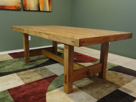 17 Best Images About Dining Table On Pinterest Craftsman Trestle Table And