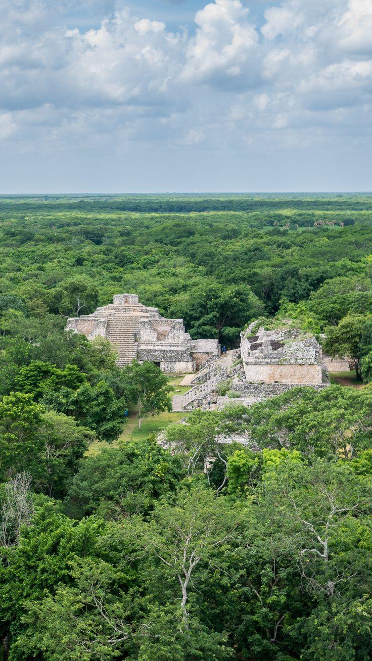 Beautiful ruins of Ek Balam in the central Yucatan, Mexico