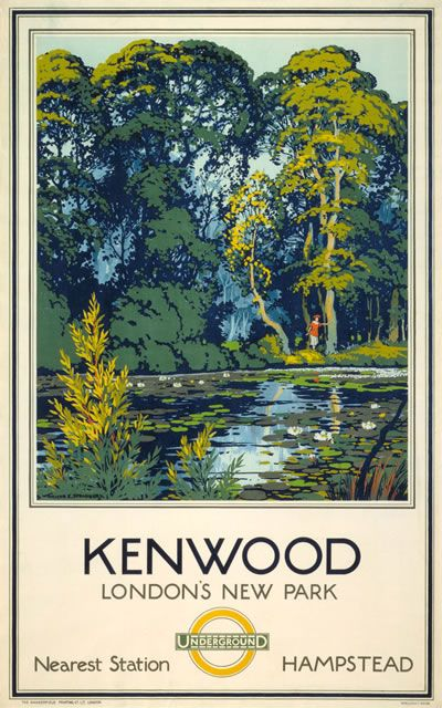 Kenwood - London's New Park by Walter E. Spradbery, 1925