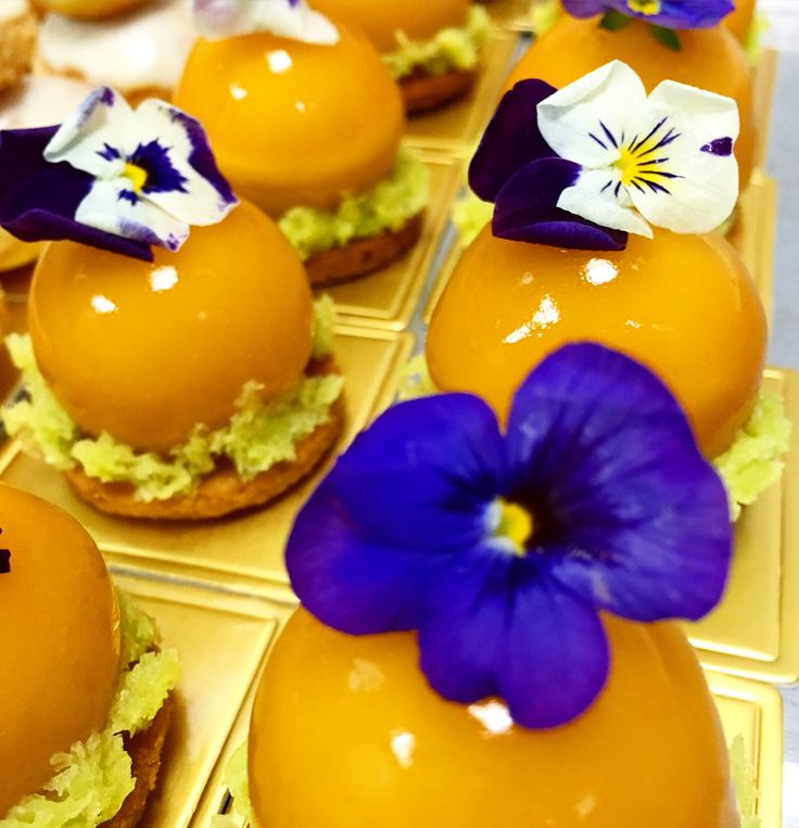 "Apricot / Riesling / Rosemary ""petits Gateaux""  Afternoon Tea Mosan 2016"
