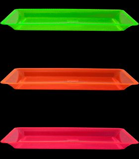 Make a statement at your next party or social gathering with these Neon Blacklight Reactive by Rectangular Serving Tray.  sc 1 st  Pinterest & 75 best Blacklight Party Tableware and Serving images on Pinterest ...