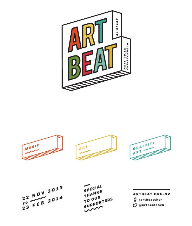art beat | logo | modular identity system                                                                                                                                                                                 More
