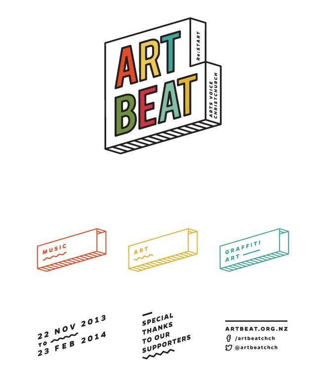 art beat   logo   modular identity system