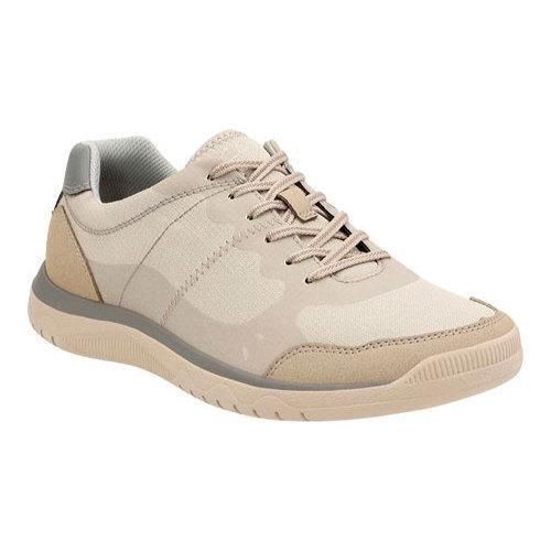 Men's Clarks Votta Edge Sneaker Sand Synthetic with