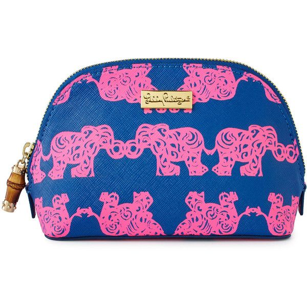Lilly Pulitzer Pack Your Trunk Cosmetic Case found on Polyvore featuring beauty products, beauty accessories, bags & cases, lilly pulitzer, canvas dopp kit, travel toiletry case, wash bag and toiletry kits