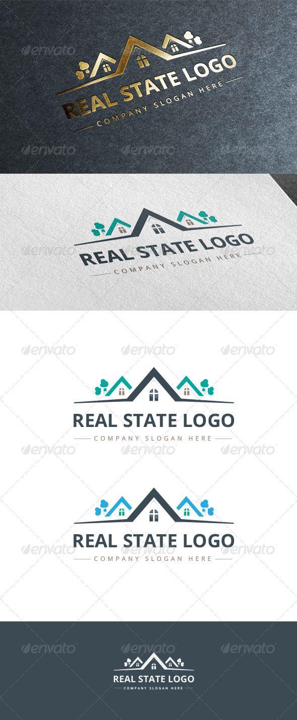 Real Estate Logo  #graphicriver