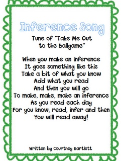 Inference SongReading, Teaching, Schools, Inference Songs, Languages Art, Education, Classroom Ideas, 3Rd Grade, 2Nd Grade