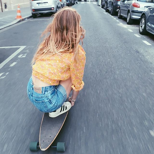 longboard girl sally carden @walulife