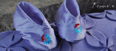 Petits pieds Maia Cute handmade baby shoes by Atelier Faggi Italy