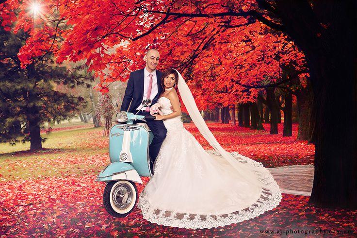 Autumn Wonderland - William & Jan, White Knight Reception, Maidstone Melbourne #weddingphotographer #melbourneweddings #melbourneweddingphotographer #weddingphotographymelbourne #whitenightreceptions