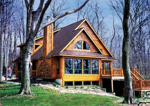 Beechwood home plan log homes for Holland house design