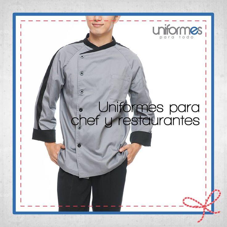 Un uniforme a tu medida para que te sientas cómodo en la cocina. #UniformesParaTodo #Chef #Restaurante #Cocina #Personalizar   www.uniformesparatodo.com