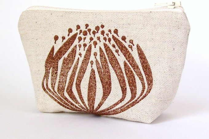 Protea Purse by Henri Kuikens