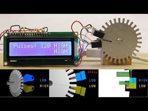 Optical rotary absolute encoder tutorial - YouTube | DIY Hobby